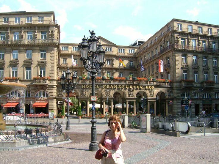 The Frankfurt Hof hotel, gorgeous!