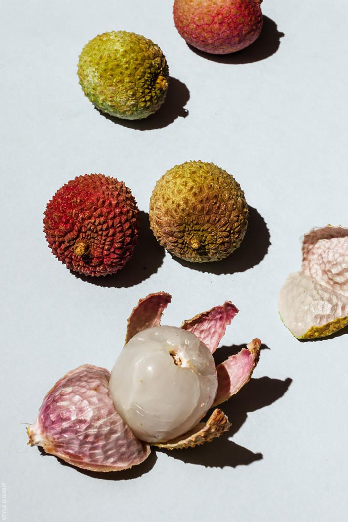 Colorful lychee