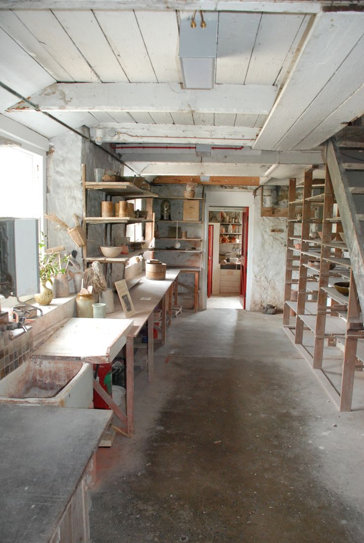 Leach Pottery,  Bernard Leach and Shoji Hamada, St Ives, Cornwall. When I was in college, a term abroad, hitchhiked to this studio to meet Bernard Leach   and visit this studio.