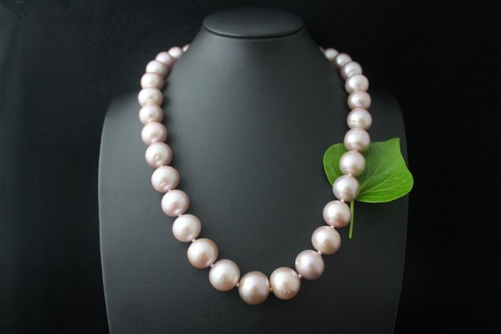 prachtig natuurlijk roze parels