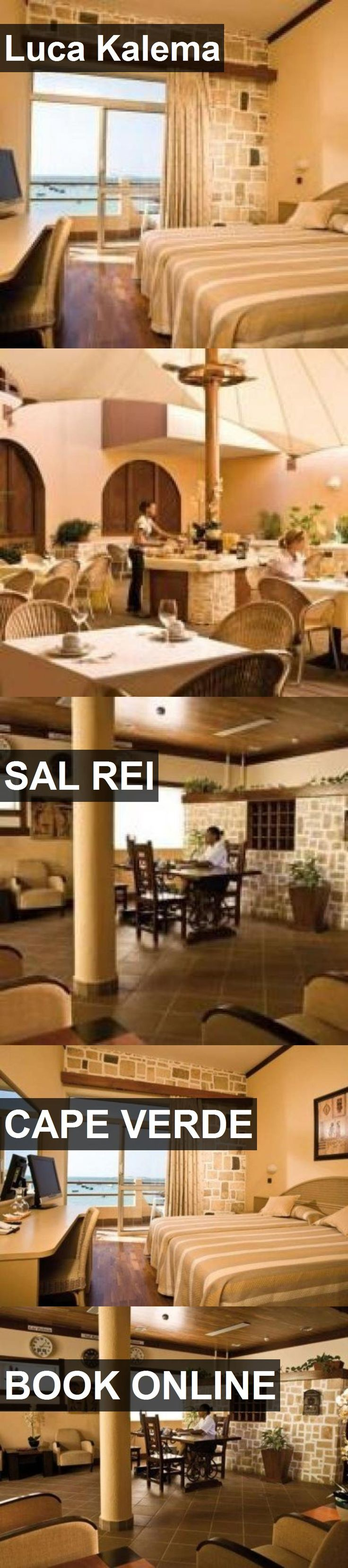 Hotel Luca Kalema in Sal Rei, Cape Verde. For more information, photos, reviews and best prices please follow the link. #CapeVerde #SalRei #travel #vacation #hotel