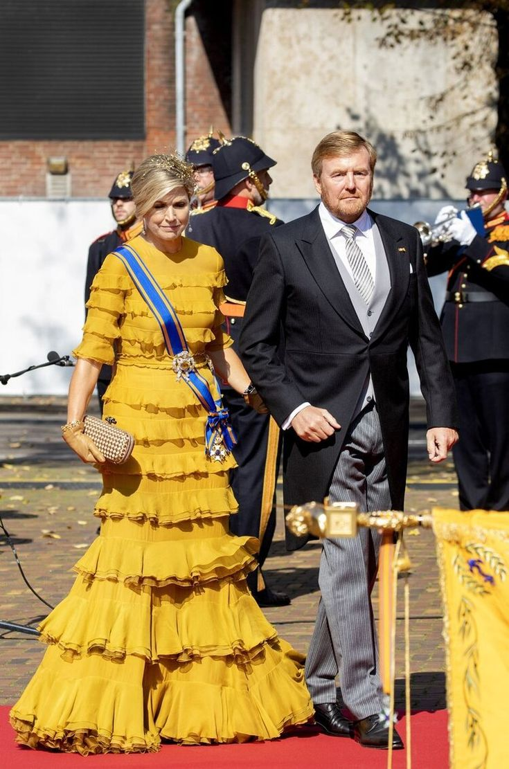 The King and Queen of the Netherlands Attend Prinsjesdag