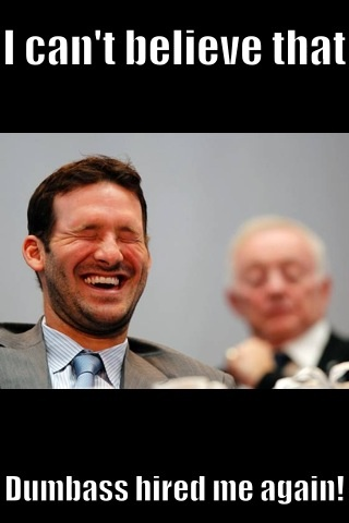 Tony Romo's new contract should have never been