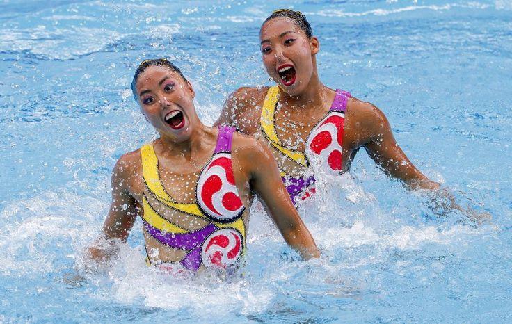 Olympisches Synchronschwimmen: So schön gaga - SPIEGEL ONLINE - Sport