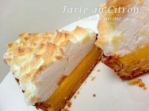 Salam Alaykom, voila j'ai essayé la recette de la tarte au citron de chef Ihab de samira tv, vraiment un pur délice! elle était au-delà de mes espérances! Un fond de pâte croustillant, une bonne crème au citron et une meringue légère. Ingrédients: (pour...