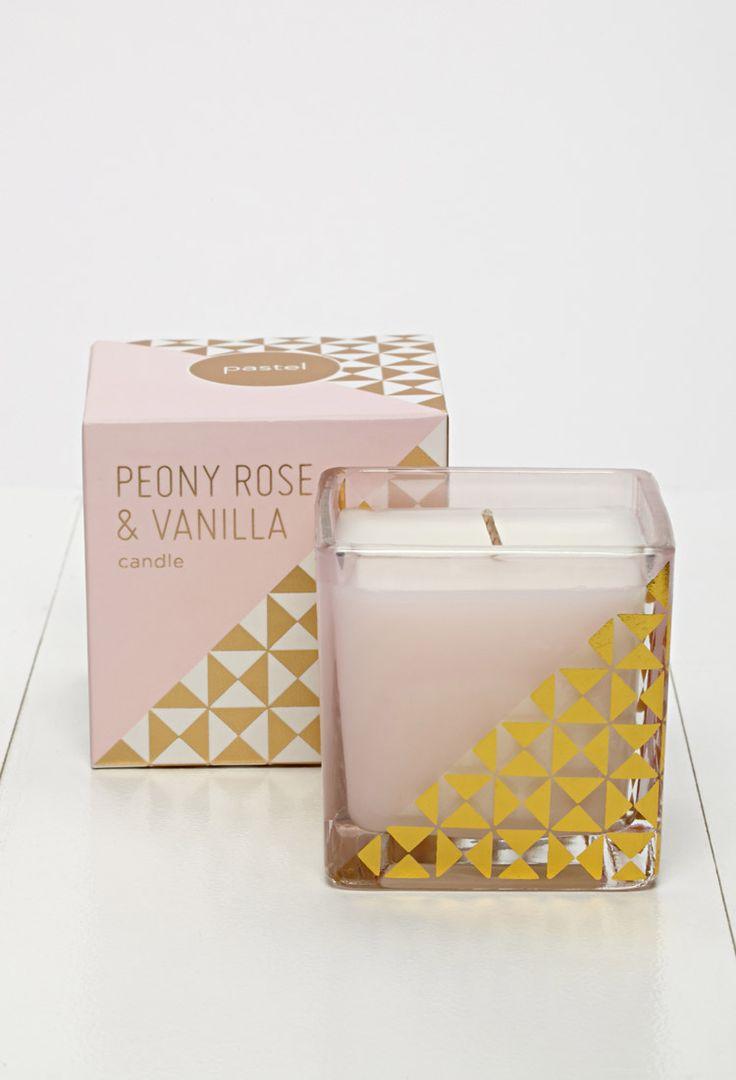 Fringe Studio Peony Rose and Vanilla Candle   FOREVER21 - 1000077241