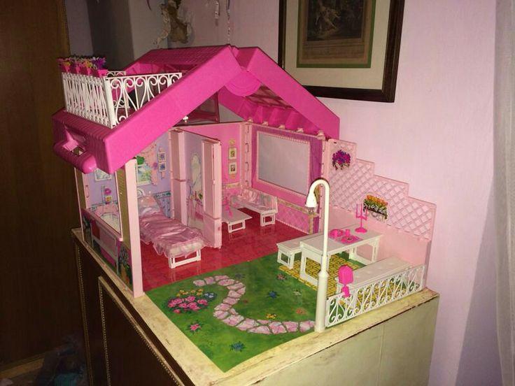 Barbie Fold'n fun house 1992 La casa delle meraviglie di Barbie Finalmente (di nuovo) mia e completa!!!