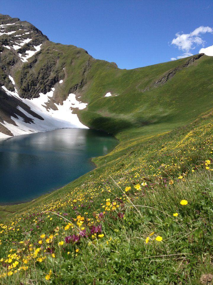 Lake Licony, Morgex, Aosta, Italy