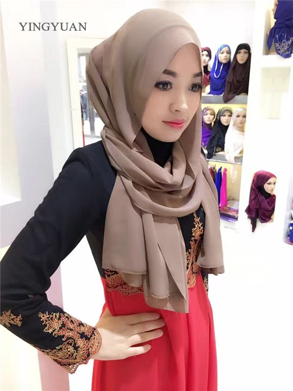 Hijab Chiffon *** AliExpress Affiliate's Pin.  Find out more by clicking the VISIT button