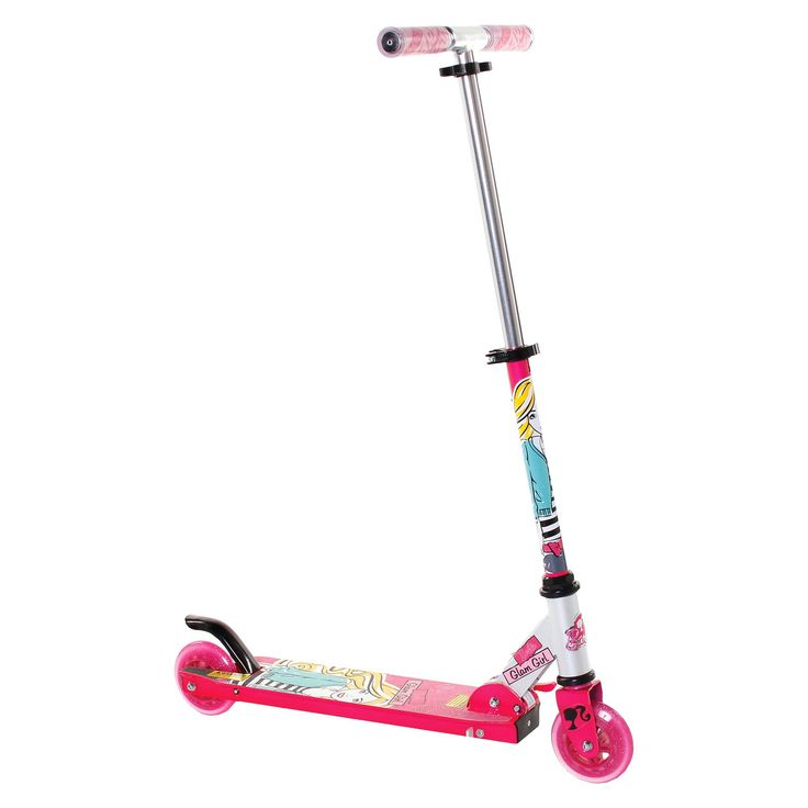 Barbie 2 Wheel Kick Scooter - Pink