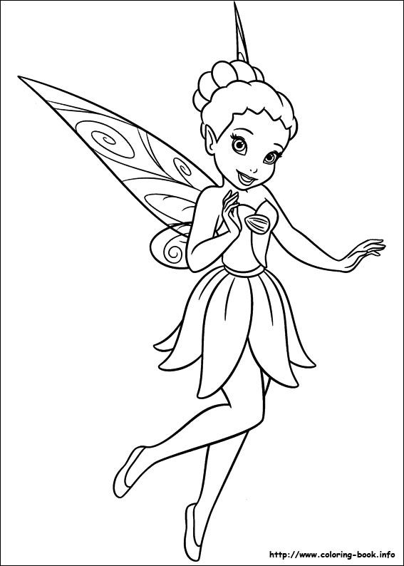 103 best Disneys Fairies Coloring Fairies images on Pinterest