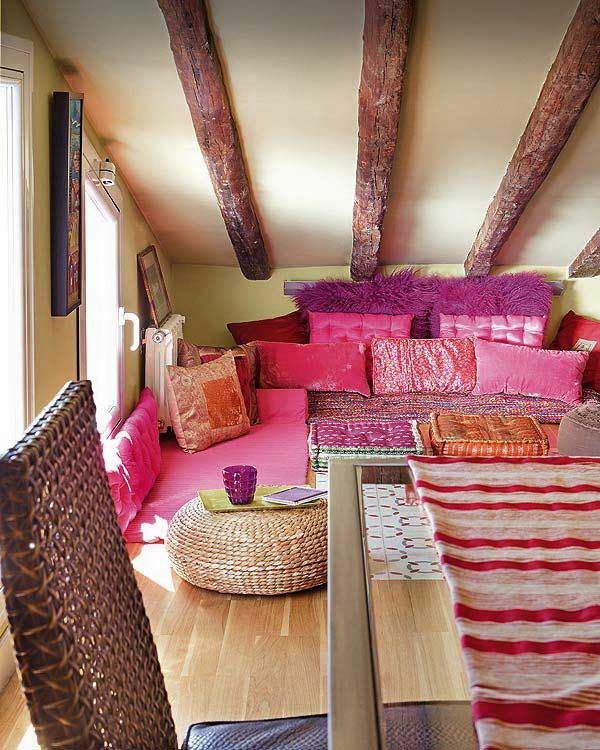 Great floor seating idea. 26 best images about Floor pillows designs on Pinterest   Floor