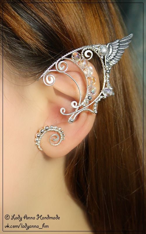 Aside from being gorgeous, this tangentially inspires me to make earrings with interesting backs.