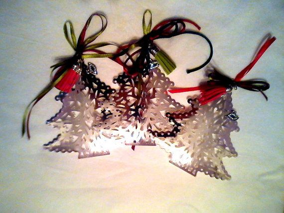 Big Christmas tree lucky charm /  one peice / by KaterinakiJewelry