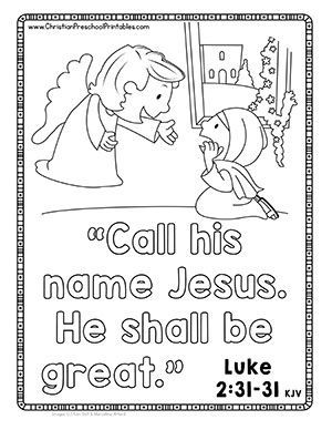 66 best images about sunday school on pinterest sunday for Mary and gabriel coloring page