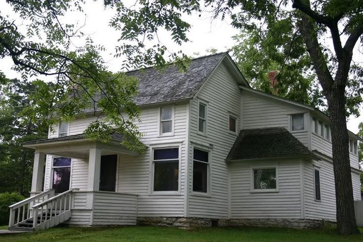 The Laura Ingalls Wilder house.