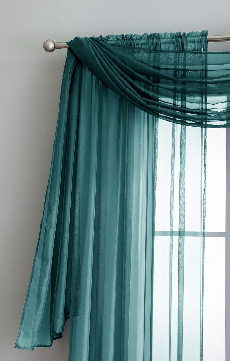 Teal Blur Sheer Curtains Living Room Decorations: Best 25+ Teal Curtains Ideas On Pinterest
