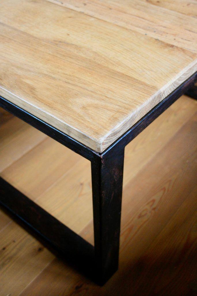 Tavolo in stile industriale legno e ferro (con immagini