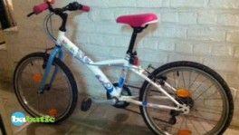Vélo fille 20 pouces