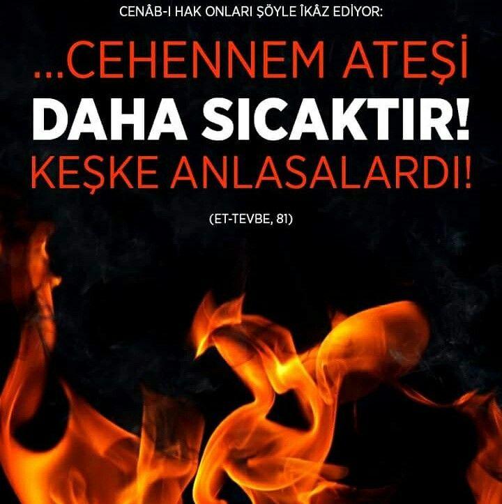 Cehennem  #ateş #cehennem #sıcak #ayet #islam #iman #islam #müslüman #türkiye #istanbul #ilmisuffa