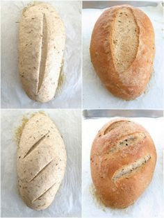Caraway Rye Bread - Delicious! - step by step pics./directions and tips    by kingarthurflour #Bread