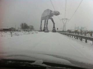 Yeah, gonna be late for work...: The Roads, Real Life, Snow, Stars War, To Work, Back Homes, Roads Trips, Winter Is Come, Photo