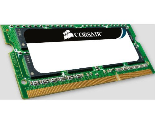 Corsair - Memoria RAM 8 GB  PC-6400 DDR2 (2x 4 GB, 800 MHz, sin búfer, CL5 SODIMM) B001V738V4 - http://www.tabletsprecios.com/corsair-memoria-ram-8-gb-pc-6400-ddr2-2x-4-gb-800-mhz-sin-bufer-cl5-sodimm-b001v738v4.html