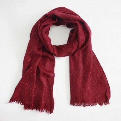 Redcurrent Burgandy Winter Speckle Scarf