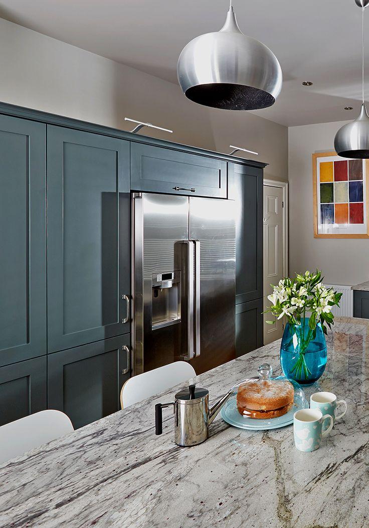 how to design a kitchen around an american fridge freezer ao life