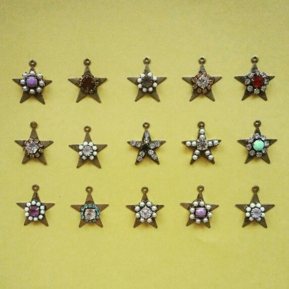 Charms! We love Stars!  New jewelry Soon on www.federicasalvatorifranchi.it ❤