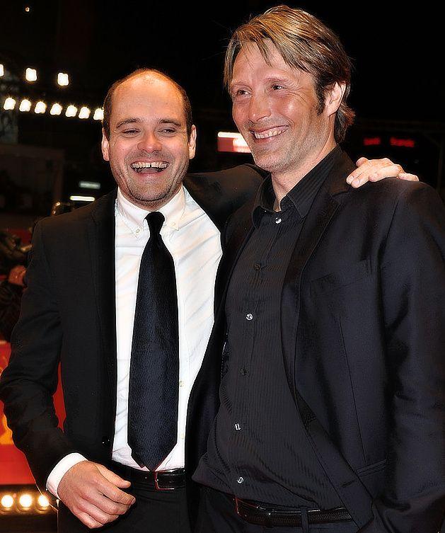 Mads Mikkelsen with David Dencik.