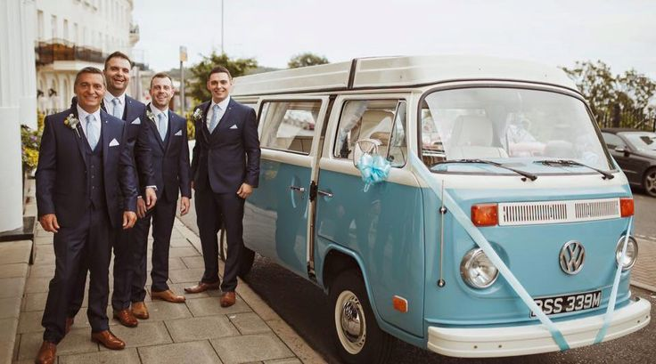 VW camper. Scarborough Bay Weddings. Photo by Neil Jackson.