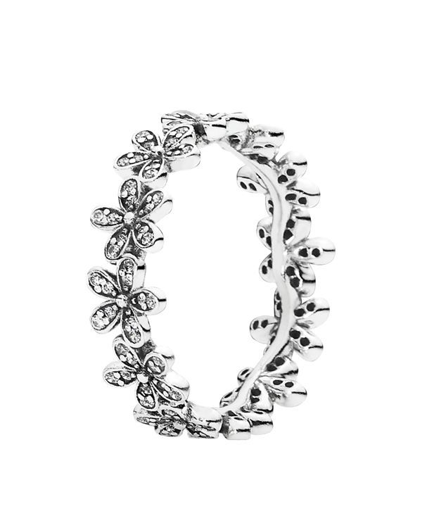 Pandora Ring - Sterling Silver & Cubic Zirconia Dazzling Daisy Meadow - WANT