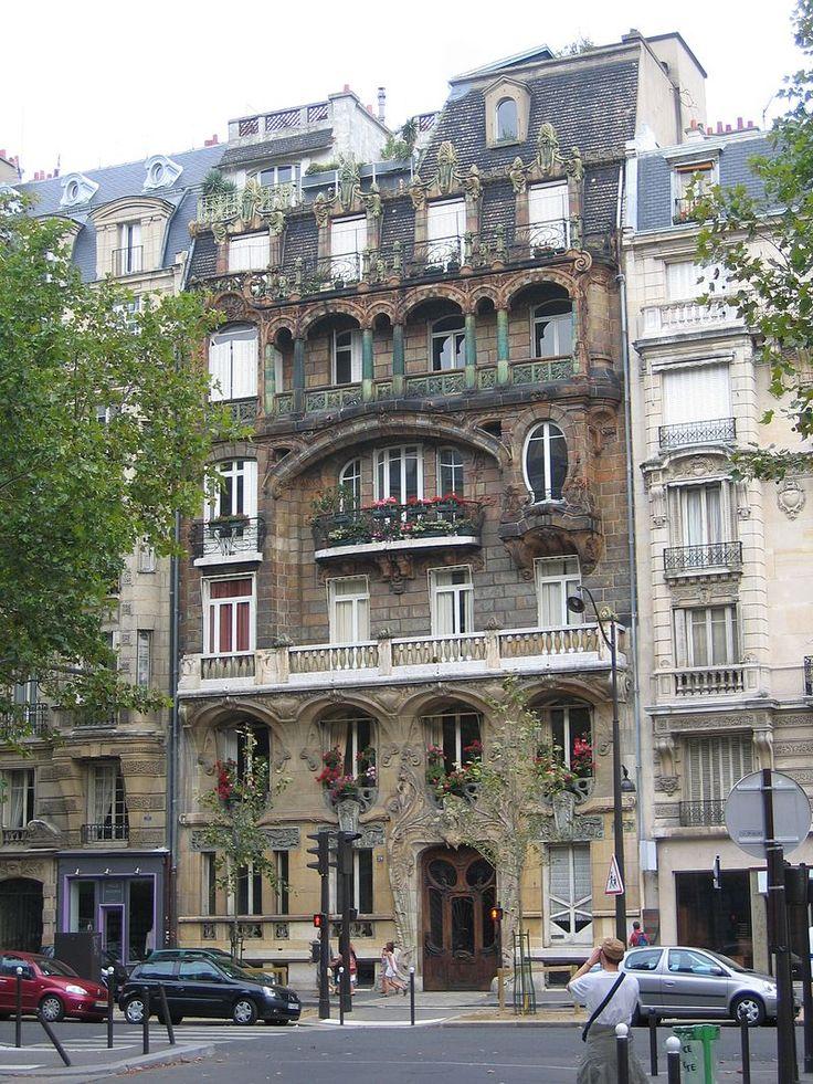 Jules Lavirotte. 29 avenue Rapp, Paris.