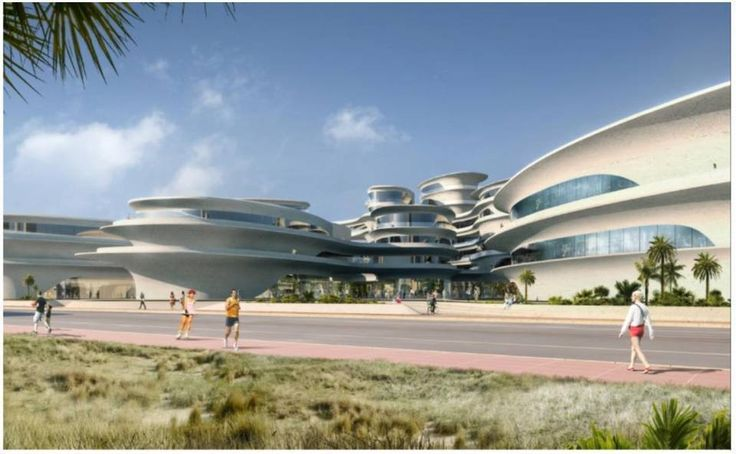Preliminary renderings by architect Zaha Hadid, who died Thursday in Miami Beach, for a contemplated university in the city's North Beach neighborhood.