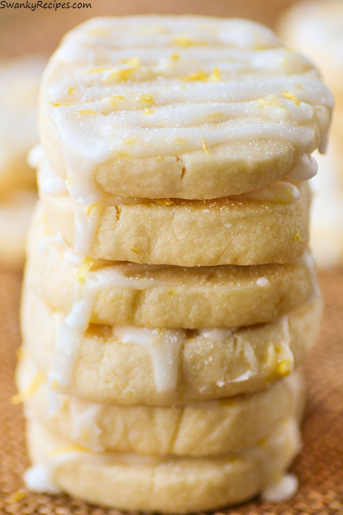 Lemon Shortbread Cookies on Pinterest | Lemon cookies, Sweet cookies ...