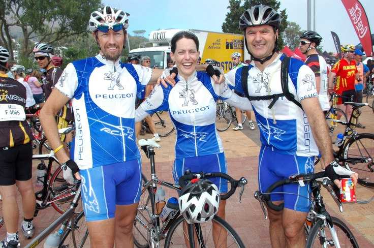Argus cycle race 2011. Nr 21 with Jirka Vymetal (also nr 21) and Tandi Kitching