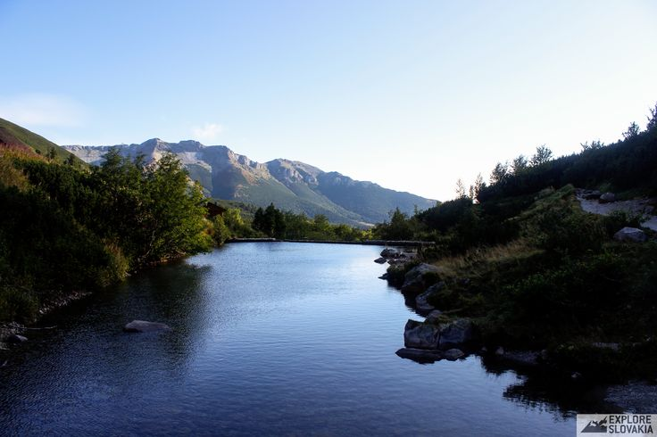 Glacial lakein High Tatras, Slovakia.