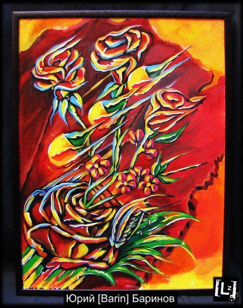 Картина, холст, акрил. Название Роза-мать. разработана как эскиз к будующей татуировке. Судьбаносна, должна изменить жизнь человека.