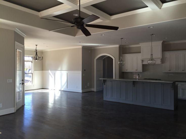 Sherwin Williams Worldly Gray Alabaster Cabinets And Trim