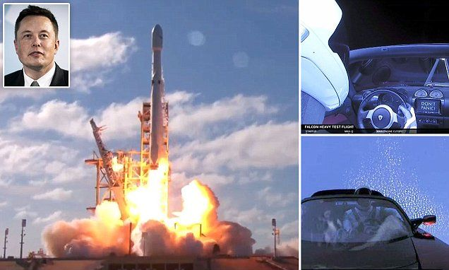 Ground control to Major Tom - we have LIFT OFF! Moment the World's most powerful space rocket fires a Tesla Roadster to MARS - SpaceX's Falcon Heavy megarocket has finally blasted off from the launchpad at Cape Canaveral, carrying Elon Musk's cherry red Tesla Roadster.   7.2. 2018,  www.netkaup.is NCO eCommerce, IoT www.nco.is