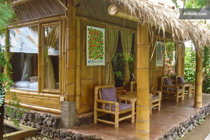 Nature Friendly Bamboo House Design: Environmentally Friendly Bamboo Cottages
