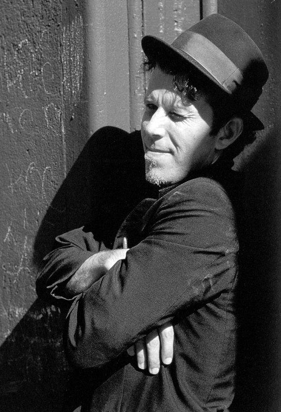 Tom Waits affiche, musicien d'Avant-Garde, Blues, icône de la musique Folk, expérimental, Jazz, Rock
