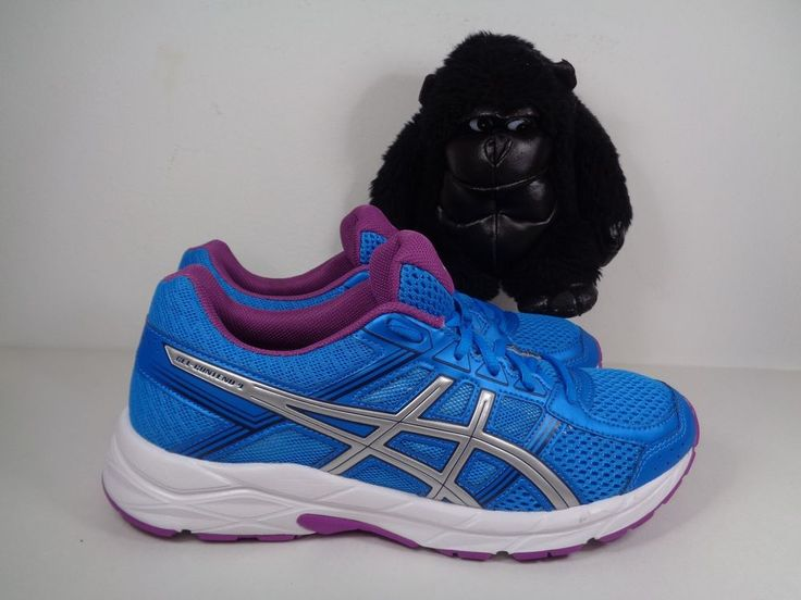 Women's Asics Gel Contend 4 Running Cross Training shoes size 9.5 US T765N #ASICS #Running