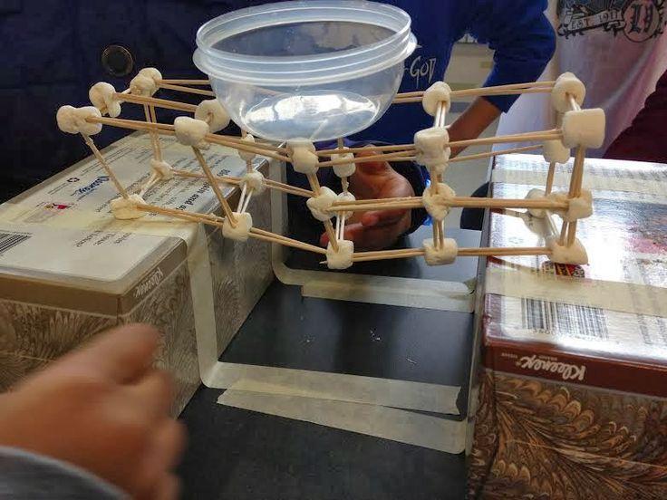 Totally fun STEM activity! It's Bridge Building! #STEM #Engineering #teacherspayteachers