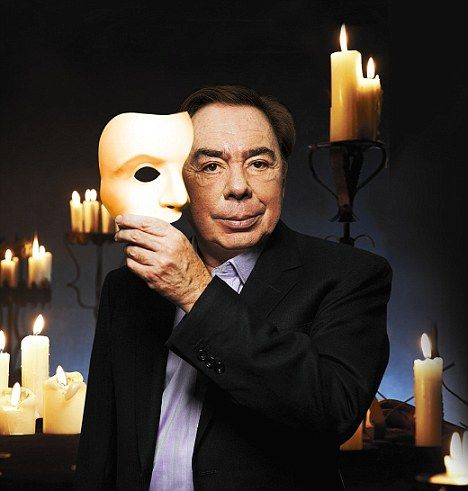 "High achiever: Andrew Lloyd Webber is one of the world `Music writer of ""Phantom of the Opera""."