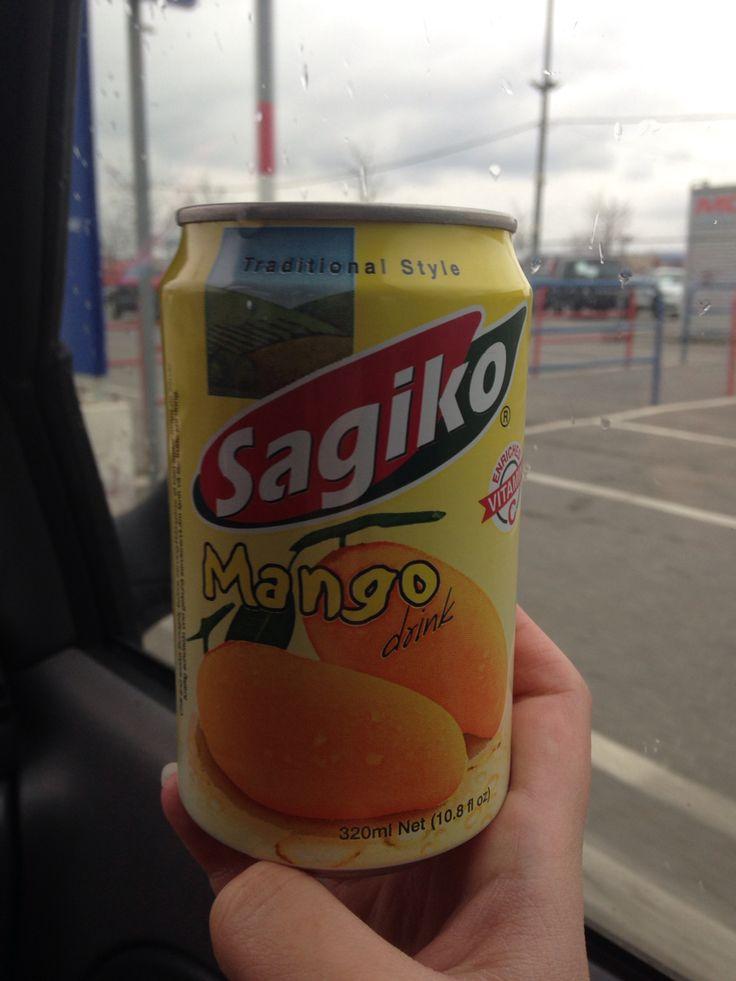Mango Sagiko... Quite delicious