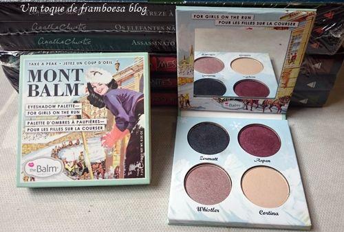 the Balm Cosmetics, Mont Balm Eyeshadow Palette—for girls on the run .. eyes, eye makeup / pinterest:  katepisors