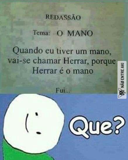 Engracado e trágico, coitado do português.