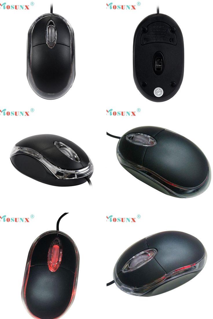 [Visit to Buy] Mosunx Advanced  2017 raton de la computadora por cable  Design 1200 DPI USB Wired Optical Gaming Mice Mouse For PC Laptop 1PC #Advertisement